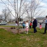 Easter Morning Egg Hunt 2013